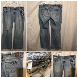 American Eagle Outfitters Jeans Size 14R